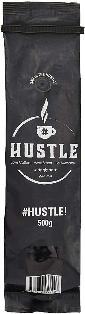 HustleCoffee Ground Coffee and Robust Flavour Selected from the Strongest Rocky Grind 500g