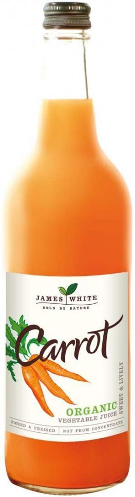 James White Organic Carrot Juice 750ml