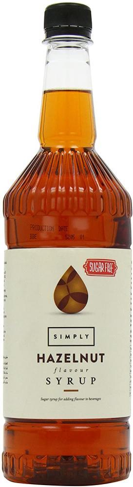 Simply Sugar Free Hazelnut Syrup 1L