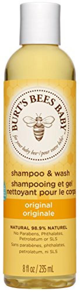 Burts Bees Baby Bee Shampoo and Wash 235ml