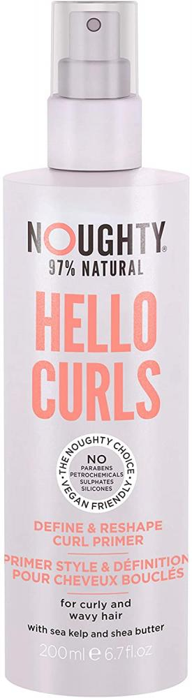 Noughty Haircare Hello Curls Define and Shape Curl Primer 200ml