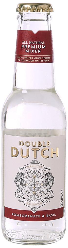 Double Dutch Ltd Pomegranate and Basil 200ml