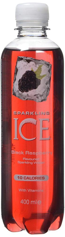 Sparkling Ice Black Raspberry Flavour Sparkling Water 400ml