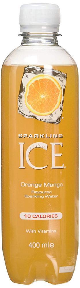 Sparkling Ice Orange Mango Flavour Sparkling Water 400ml