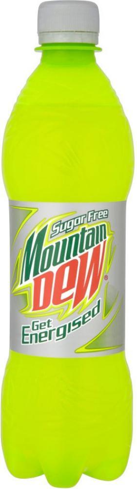 Mountain Dew Sugarfree Citrus Flavour Drink 500ml