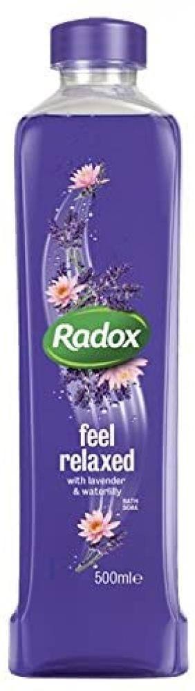 Radox Feel Relaxed Lavender and Waterlily Bath Soak 500ml