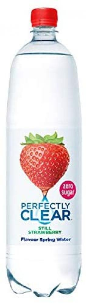 Perfectly Clear Still Strawberry Natural Spring Water 1.5 L