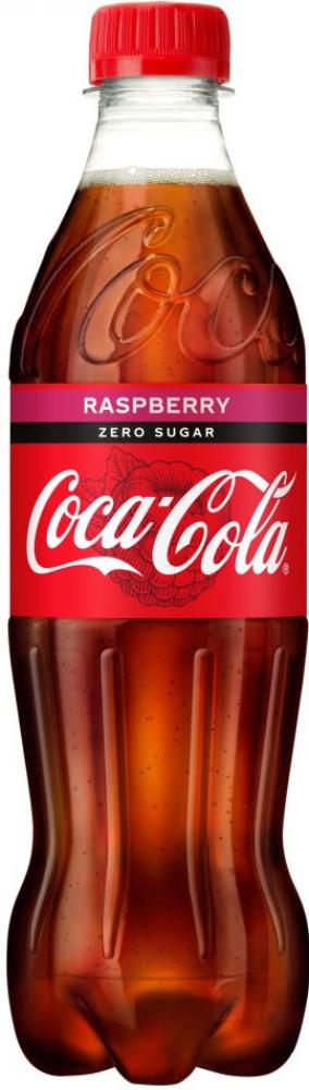 Coca Cola Raspberry Zero Sugar 500ml