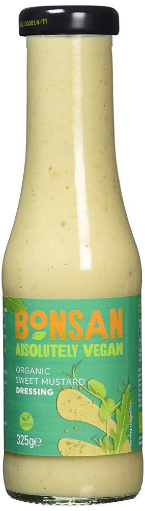 Bonsan Organic Vegan Sweet Mustard Dressing 325g