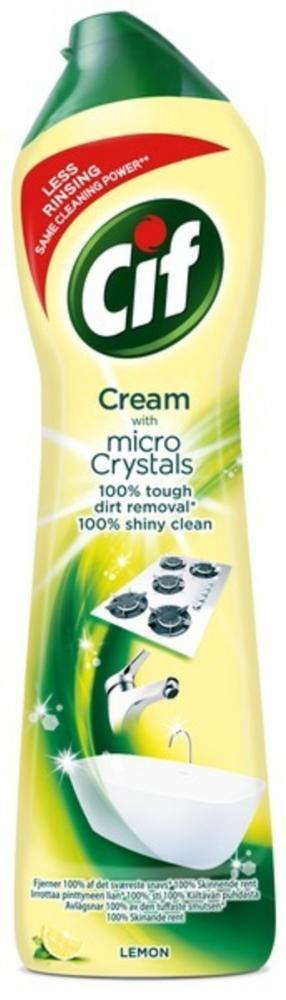 Cif Cream Lemon Cleaner 500ml