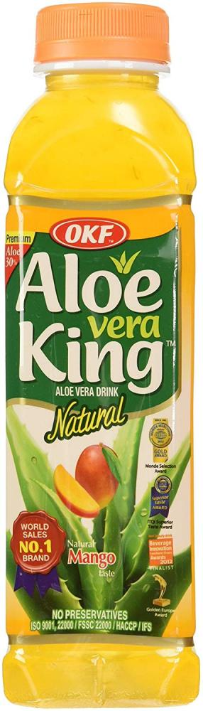 OKF King Mango Aloe Vera Drink 500ml