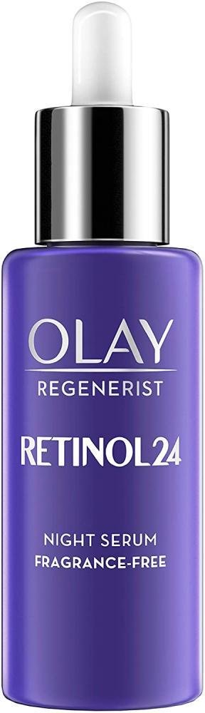 Olay Regenerist Retinol24 Night Serum Fragrance Free With Retinol and Vitamin B3 40ml