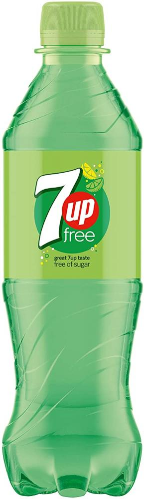 7up Free Lemon and Lime Flavoured Fizzy Drink 500ml