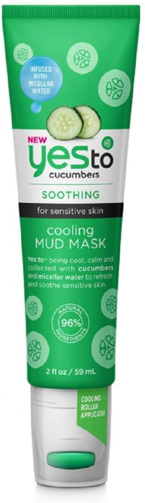 Yes To Cucumbers Cooling Mud Mask 59ml