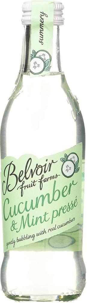 Belvoir Farm Sparkling Cucumber And Mint Bottle 250 ml