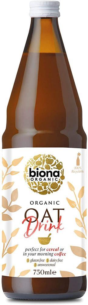 Biona Organic Gluten Free Oat Drink 750ml