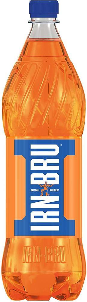 SALE  Irn Bru Fizzy Drink Bottles 1L
