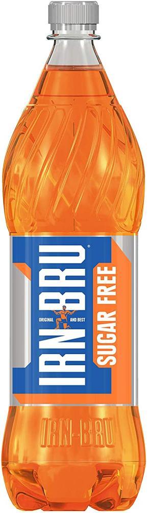Irn Bru Sugar Free Fizzy Drink 1 Litre