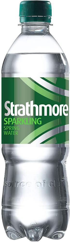 Strathmore Sparkling Spring Water Bottle 500ml
