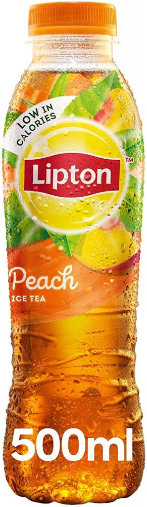 Lipton Ice Tea Peach Still Soft Drink 500 ml
