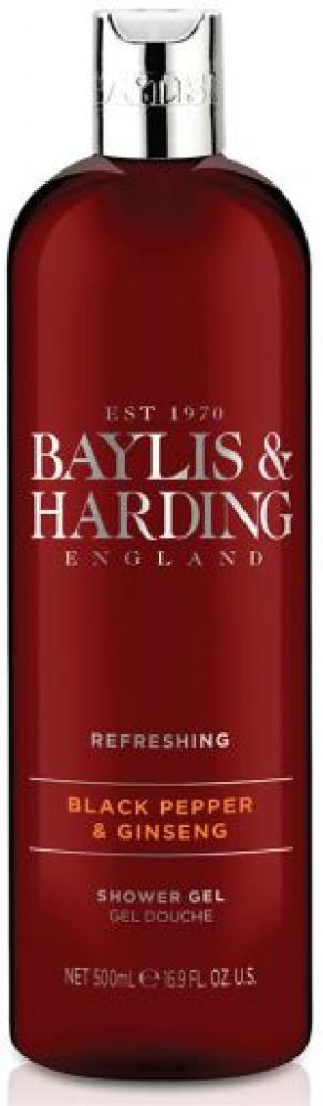 Baylis and Harding Black Pepper Moisturising Shower Gel 500 ml