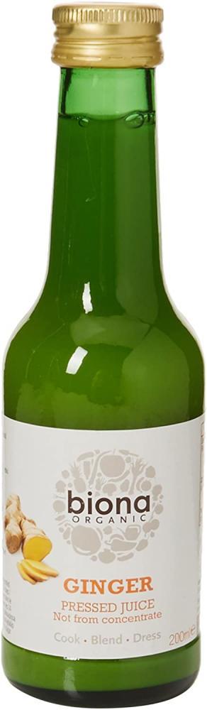 Biona Organic Ginger Juice 200 ml