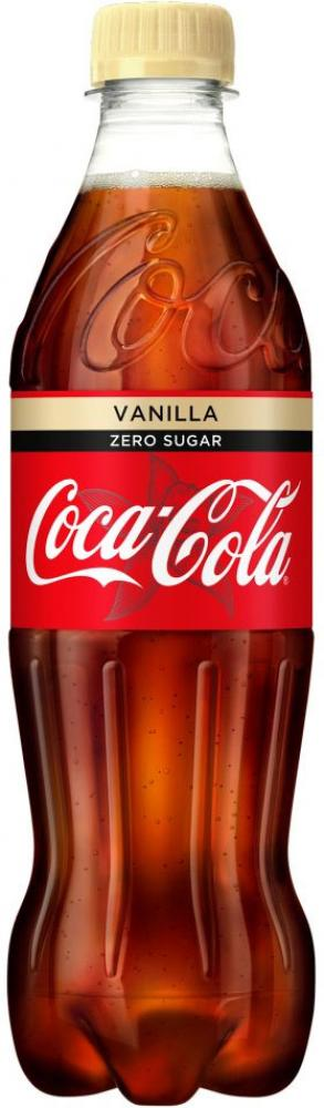 Coca Cola Vanilla Zero Sugar 500ml