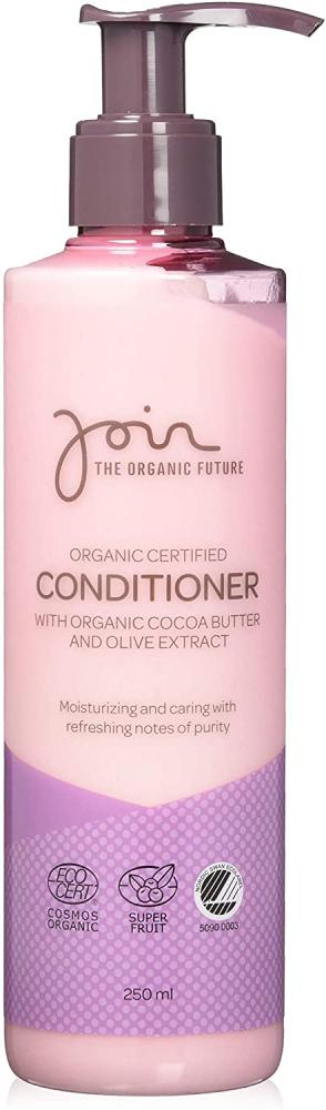 Join Organic Certified Conditioner with Cocoa Butter and Olive Extract 250 ml