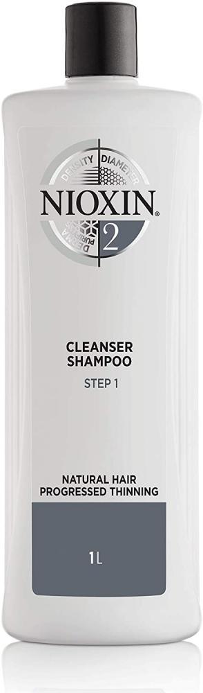 Nioxin System 2 Cleanser Shampoo 1 L