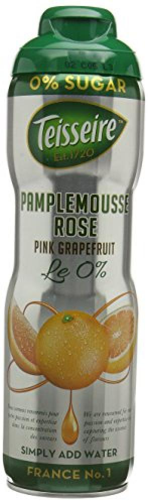 Tesseire Pink Grapefruit Zero Percent Sugar Syrup 600 ml