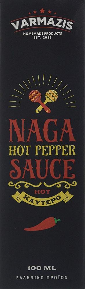 Varmazis Naga Hot Pepper Sauce 100 ml