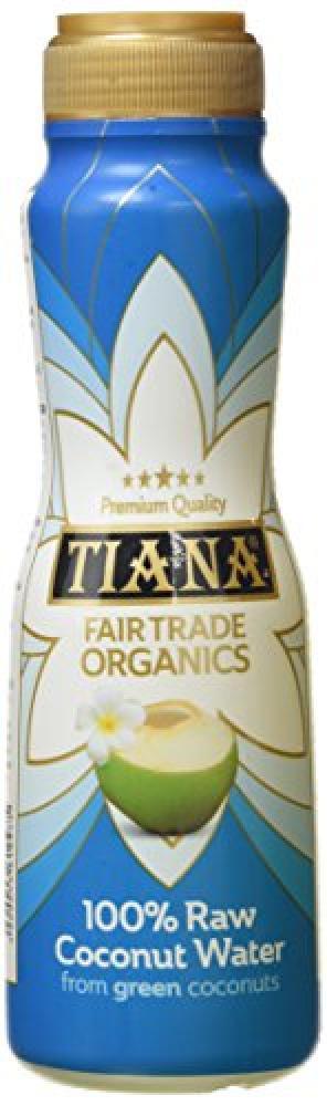 Tiana Fair Trade Organics 100 Raw Coconut Water - 350ml