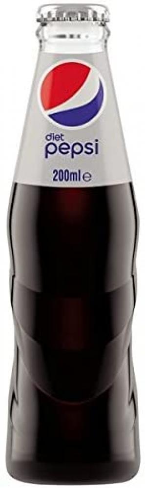 Pepsi Diet Glass Bottle 200ml