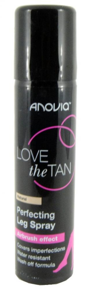 SALE  Anovia Love The Tan Perfecting Leg Spray Natural 75ml