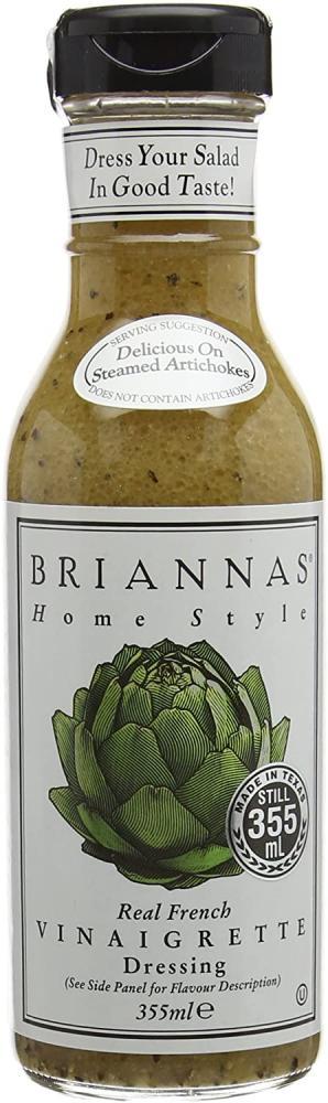 Briannas Real French Vinaigrette Dressing 355ml