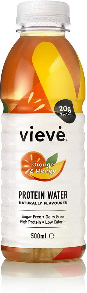 Vieve Protein Water Orange And Mango 500ml
