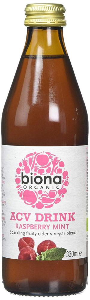 Biona Organic ACV Drink Raspberry Mint 330 ml