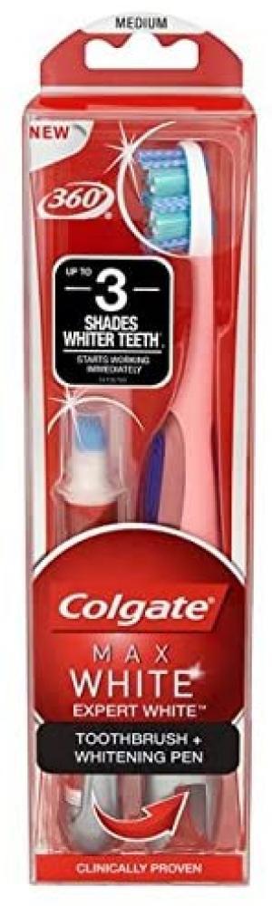 Colgate Max Expert Toothbrush and Whitening PenWhite