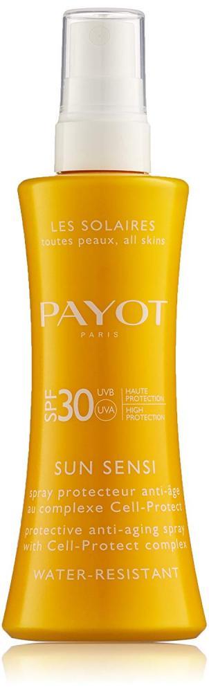 SALE  Payot Paris Sun Sensi Protective Anti Ageing Spray SPF30 125ml