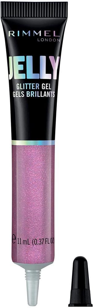 Rimmel London Jelly Glitter Gel 500 Purple Rain 11ml