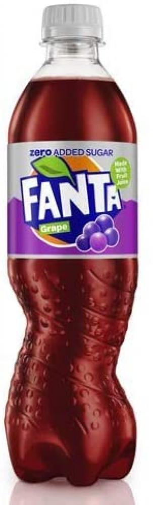 Fanta Zero Grape 500ml