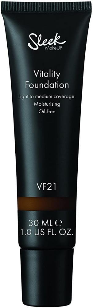 SALE  Sleek Make Up Vitality Foundation Number 21 30ml