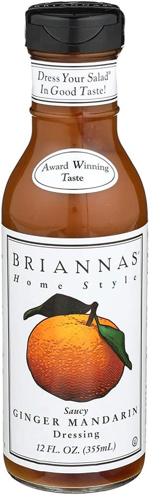Briannas Saucy Ginger Mandarin Dressing 355 ml