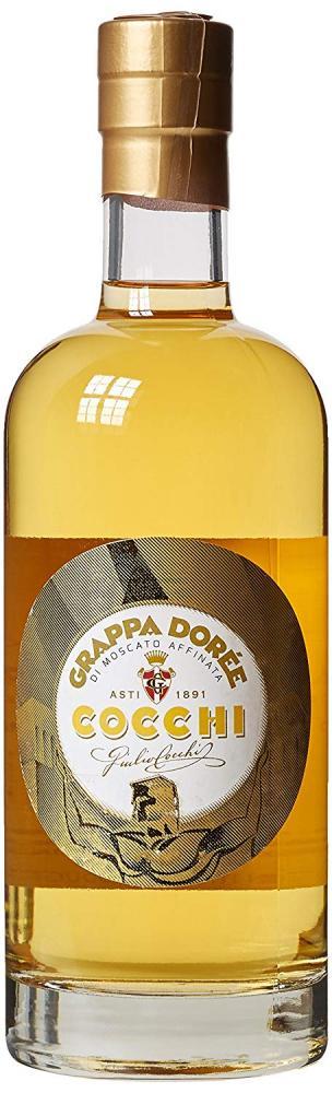 Cocchi Grappa Doree di Moscato Affinata Brandy 70cl