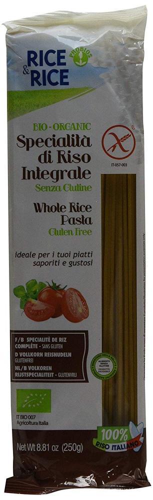 Probios Whole Rice Pasta Gluten Free 250g