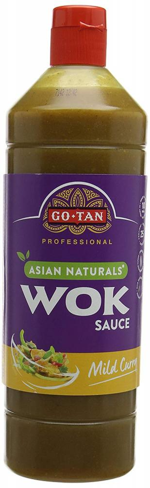 Go-Tan Wok Mild Curry Sauce 1 L