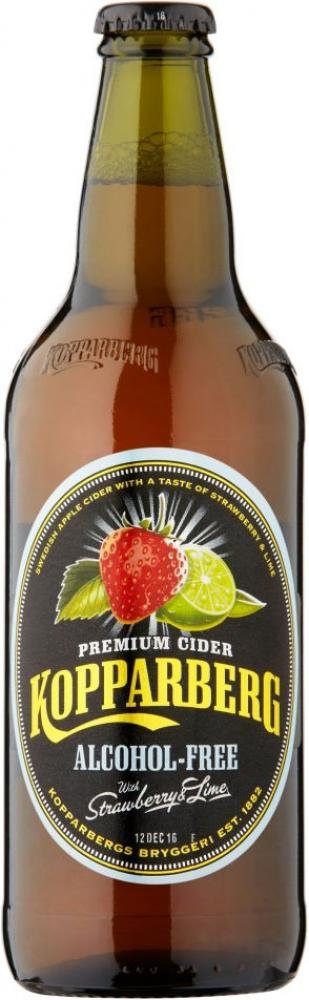 Kopparberg Strawberry and Lime Alcohol Free 500ml