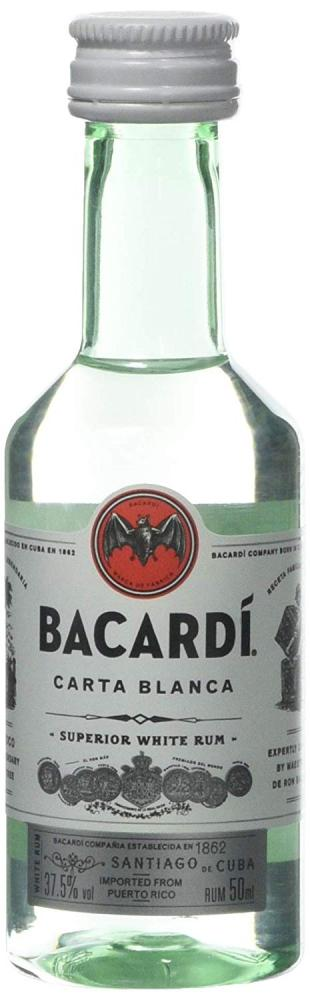 Bacardi Superior Rum Miniature 5 cl