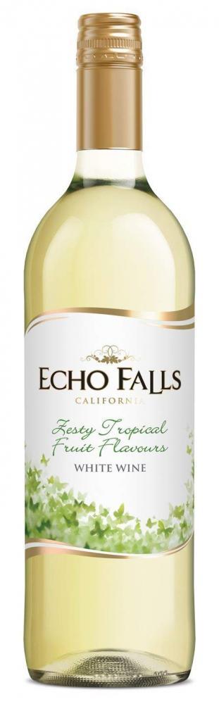 Echo Falls White Wine Tropical Fruit 750ml