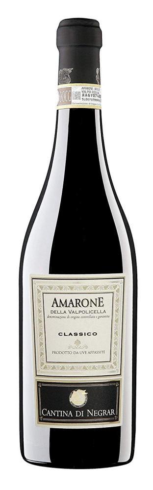Cantina di Negra Amarone della Valpolicella DOCG Classico 75cl 2015